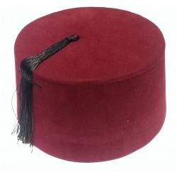 Türkenfez ROT Nr. 6 / Fez / Hut - Türkei / Traditionelle Mütze