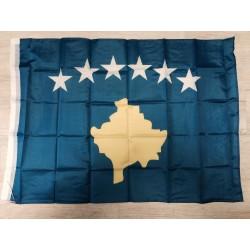 KOSOVO Fahne Flagge Fahnen Flaggen 71x101cm Blau - Shqiperia KS Kosovo AL Albania Kosova Shqip Prishtina Tirana