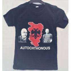 AUTOCHTHONOUS T-Shirt FÜR KINDER - Shqiperia KS Kosovo AL Albania Kosova Wappen