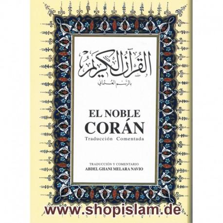EL NOBLE CORAN (Spanisch mit Arab. Text)