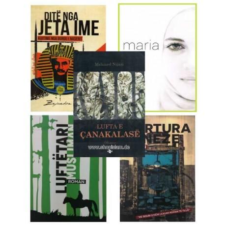 5 ROMANE - Lufta e Çanakalas, Kujtime nga Burgu i Naserit, Tortura Kineze, Maria, Luftëtari musliman