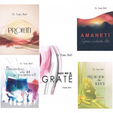 Kompleti prej 5 librave për gra. (format xhepi)